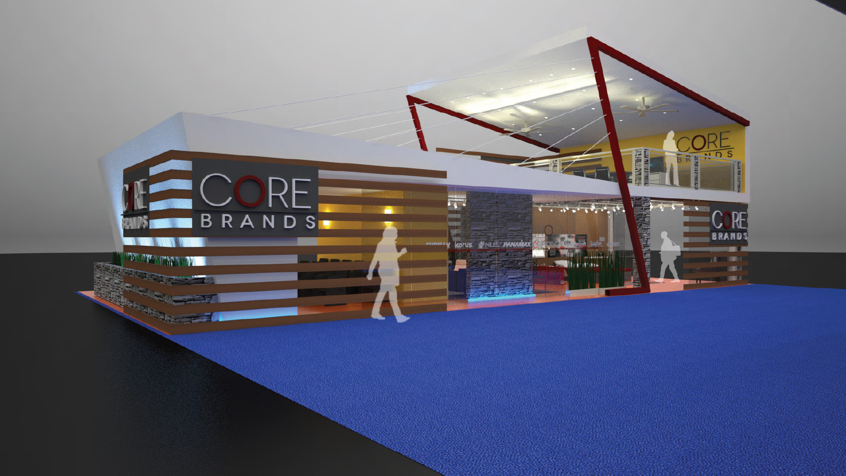 Fabric Exhibition Stand Builders : Trade show displays trade show rentals custom next level displays